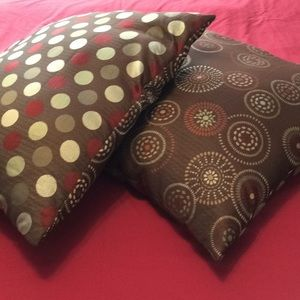 Pier 1 Imports set of 2 pillows